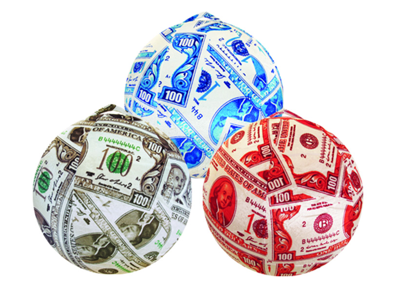 Colered Toy Money : Big print money colors  classic toy company
